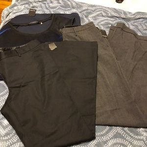 Tahari set pants and top new with tag xl and 14